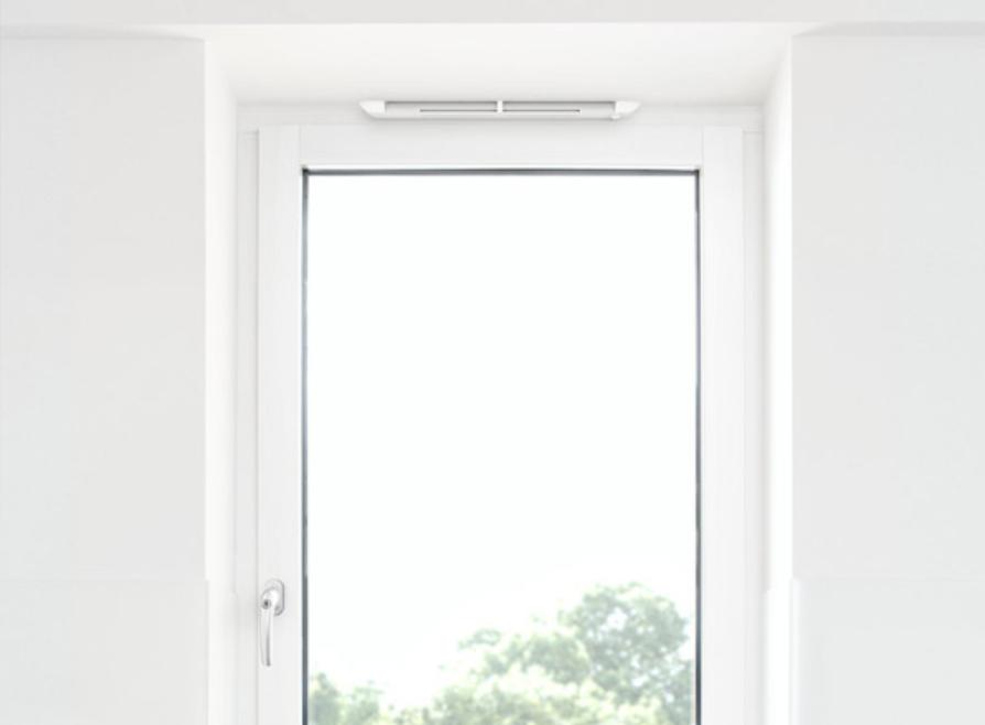 AEROMAT flex на пластиковом окне