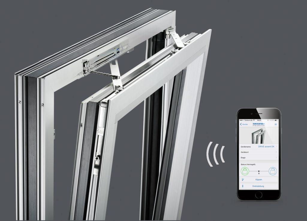 Автоматический привод проветривания окна