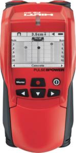 Сканер Hilti для поиска проводов и труб в бетоне
