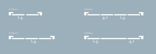 Варианты открывания дверей портала PSK